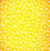 Background made of sliced juicy oranges — Stock fotografie