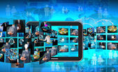 Television and internet production — Stockfoto