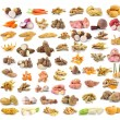 Root vegetables set — Stock Photo