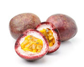 Passion fruits isolated — Stock Photo