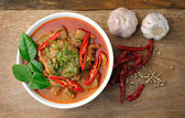 Delicious Thai panang curry — Стоковое фото