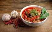 Delicious Thai panang curry — Foto de Stock