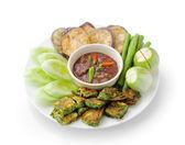 Chili paste thai style  ( healthy food ) — Stok fotoğraf
