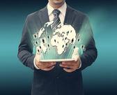 Technology business concept — Zdjęcie stockowe