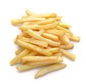 French fries isolated on white background — Stock Photo