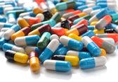 Las píldoras — Foto de Stock