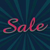 Koncept prodeje v řádcích pozadí 3d ilustrace. — Stock fotografie