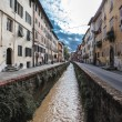 Постер, плакат: Road of the ditches Lucca side Places Holy Francesco