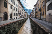 Road of the ditches Lucca side Places Holy Francesco — Stock Photo
