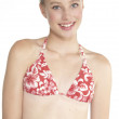 Blond Teen in Bikini Head Shot — Stock Photo