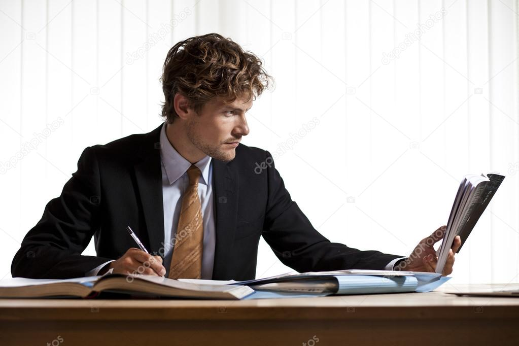 Image Gallery Businessman Reading