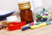 Various drugs for various conditions — Foto Stock
