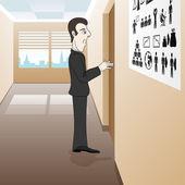 Vector. Business illustration. — Stock Vector