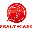 Health care icon — Stock Vector