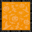 Halloween background for your text. — Stock Vector