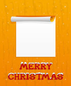 Christmas background for your text. — 图库矢量图片