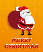Vector. Christmas illustration. — Stock Vector