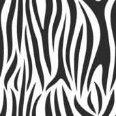 Vector. Zebra background. — Stock Vector
