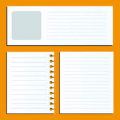 Pages for your text. — Stock Vector