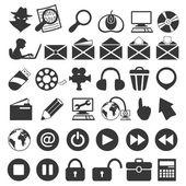Universal icon set — Stock Vector