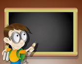 Vector. School illustration. — Stock Vector