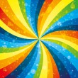 Vector. Rainbow background. — Stock Vector