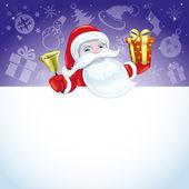 Weihnachten-Poster für Ihren text. — Stockvektor
