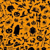 Halloween background. — Stock Vector