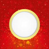 Festive background. Circle frame. — Stock Vector