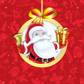Santa Claus. — Stock Vector
