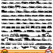 Vector set. Transportation icons. — Stock Vector #38005385