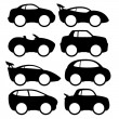 Vector set. Car icons. — Stock Vector #42321805
