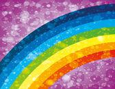 Vector background. Rainbow. — Stock Vector