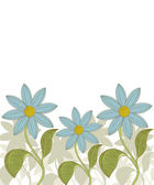 Vector. Floral background. — Stock Vector