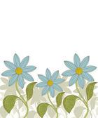 διάνυσμα. floral φόντο. — Διανυσματικό Αρχείο