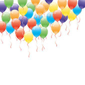 Vector background. Balloons. — Vector de stock