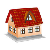 Vector icon. House. — Stock Vector