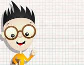 Vector illustration. Boy. — Stock Vector