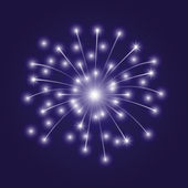 Vector illustration. Firework. — Stockvektor