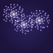 Vector illustration. Firework. — Stock Vector