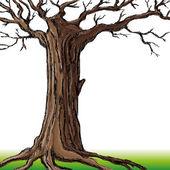 Vector illustration. Tree. — Stock Vector