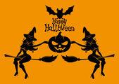 Felice halloween. — Vettoriale Stock