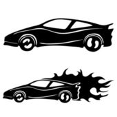 Vector set. Cars. — Stock Vector