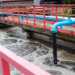 Cleaning construction for sewage treatment — Foto de stock #31840763