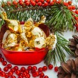 holiday decorations — Stock Photo