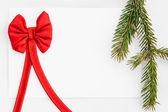 Weihnachten grußkarte — Stockfoto