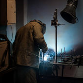 Welding work. — Stock Photo