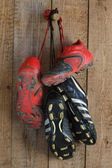Football boots — Stock Photo
