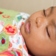 Stock Photo: Africbaby sleeping