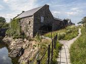 Annalong mill Ireland — Stock Photo